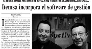 ITEMSA incorpora el software de gestión