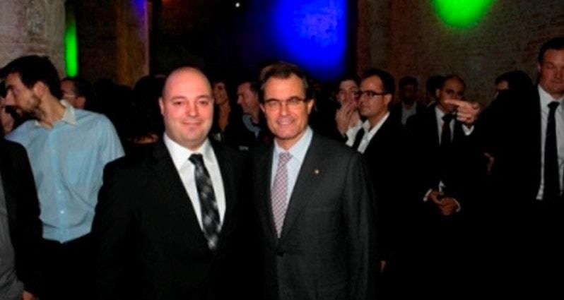 ITEMSA, con los jóvenes empresarios de PIMEC y el President Mas