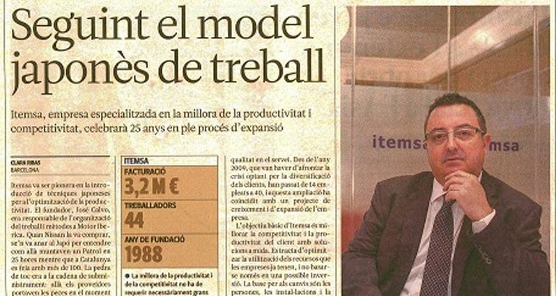 'L'Econòmic' repasa la historia de éxito de ITEMSA