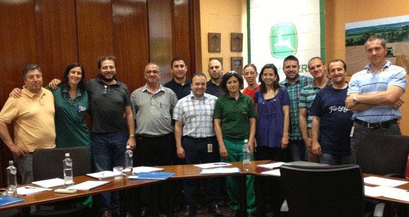 ITEMSA imparte una acción formativa en las plantas de John Deere en Getafe y Parla