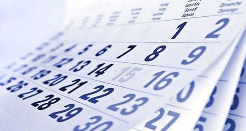 Calendario cursos Mayo-Julio 2017