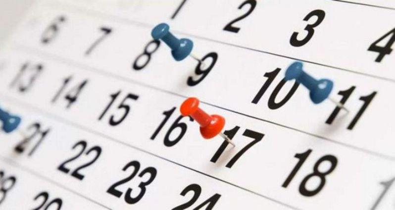 Calendario cursos Enero-Abril 2018